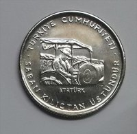 @Y@  Turkije    5   Lira  1978 FAO   (2836) - Turquie