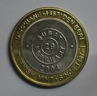 @Y@  Turkije  2004  Automatic Coin  RARE   Date 29/2   1 Miljoen Lira  (2838) - Turquie