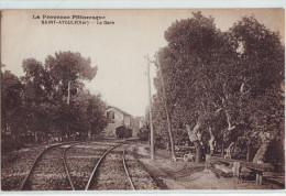 CPA Saint-Aygulf - La Gare, Train, Ligne Du Sud France - Non Classificati