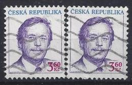 Czech-Republic  1995  Vaclav Havel  (o)  Mi.70  (see Discription) - Czech Republic