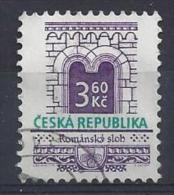 Czech-Republic  1995  Architectural Styles; Roman  (o) Mi.95 - Czech Republic