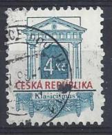 Czech-Republic  1996  Architectural Styles; Classicist  (o) Mi.118 - Czech Republic