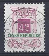 Czech-Republic  1997  Architectural Styles; Rococo  (o) Mi.140 - Czech Republic