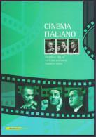 """2010 ITALIA REPUBBLICA """"CINEMA ITALIANO"""" FOLDER - 6. 1946-.. Republic"""