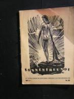 Sonnenfreunde - Offizielles Organ Des Deutschen Bundes Für Freikörperkultur 1957 - Rn.88  Seiten Mit Vielen Abbildungen - Erotic (...-1960)