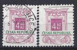 Czech-Republic  1997  Architectural Styles; Rococo  (o) Mi.140 (see Discription) - Czech Republic