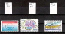 FRANCE 1994 Lot De 3 Timbres Neufs YT N 2884, 2885 Et 2886 Cote 2013 = 3.75 Euros - France