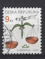 Czech-Republic  1999  Zodiac Signs (o) Mi.217 - Czech Republic