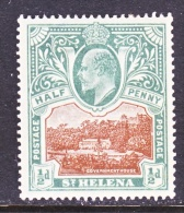 ST. HELENA  ISLAND  50  *  Wmk. 1 - Saint Helena Island