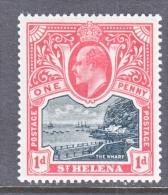 ST. HELENA  ISLAND  51  *  Wmk. 1 - Saint Helena Island