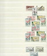 Lot D´une Page De Classeur De Timbres Neufs (xx Et X Gabon, Somalis, St-Pierre Et Miquelon) - Gabon (1960-...)