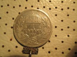 HUNGARY  1 Corona 1893  4.78 G - Hongrie