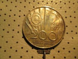 YUGOSLAVIA 200 Dinara 1977 TITO 15.05 G - Yugoslavia