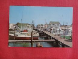 Maryland> Ocean City Marina Tear Botton Center -----  ------  Ref 1717 - Ocean City