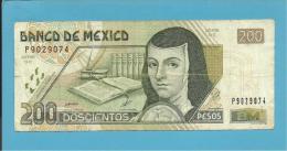 MEXICO - 200 PESOS - 26/03/2002 - Pick 119 - JUANA DE ASBAJE - 2 Scans - Mexique
