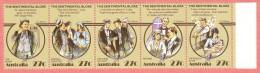 AUS SC #881 MNH STR/5  1983 Folktale Scenes / The Sentimental Bloke CV $2.50 - 1980-89 Elizabeth II