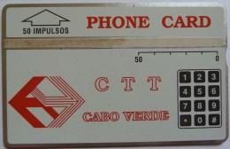 CAPE VERDE - L&G - CTT - 50 Units - 1st Issue - 010C - MINT -  RARE - Cape Verde