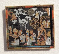 CINA (China): Vintage Chinese Painted Ink Stick Set - Arte Orientale