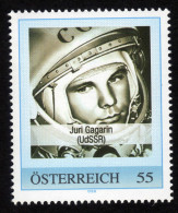 ÖSTERREICH 2008 ** Raumfahrt - Juri GAGARIN 1. Mensch 1961 In Der Erdumlaufbahn - PM Personalized Stamp MNH - Space