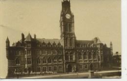 CUMBRIA - BARROW - TOWN HALL RP Cu509 - Cumberland/ Westmorland