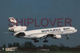 Avion  DC10-10 (TC-JAU) De La Compagnie Bogazici Carte Pi N°546 - Avion Civil/civil Aircraft