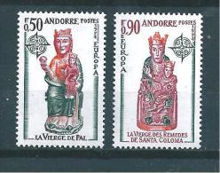 Andorre Timbre De 1974  Europas   N°237 Et 238  Neufs ** Parfait ( Cote 55€ ) - Nuovi