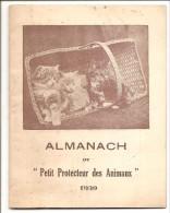 Almanach Du Petit Protecteur Des Animaux  Petit Livret  (2 Scans) - Animaux