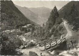 H 574  CAUTERETS  PONT DE BIAQUET 1948 - Cauterets