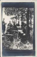 Militaria - Carte Photo - Récupération Des Renseignements Fournis Par Les Aérostiers - War 1914-18