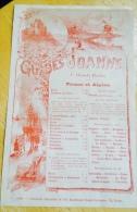Publicité Papier Illustré Par Fraipont Pour Les Guides Joanne France Et Algérie - Invoices & Commercial Documents