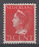 Nederland - Plaatfout 334 PM – Gebruikt/gebraucht - Mast 7e Editie 2013 - Plaatfouten En Curiosa