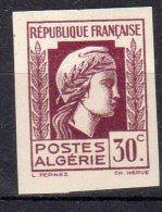 MARIANNE D´ALGER - 30c Lilas- N° 210 ND** - Unused Stamps