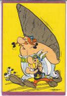 Obélix Livrant Un Menhir (Uderzo) - Fumetti