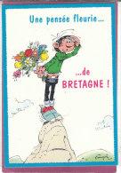 LAGAFFE . Une Pensée Fleurie De Bretagne  (Franquin ) - Fumetti