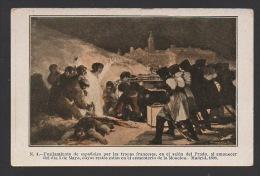 DF / HISTOIRE / NAPOLEON / GUERRE D'ESPAGNE / ESPAGNOLS FUSILLÉS PAR LES TROUPES FRANÇAISES / MADRID 1808 - Histoire