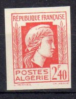 MARIANNE D´ALGER - 2,40F Rouge - N° 215 ND** - Unused Stamps