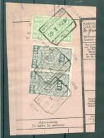 """BELGIE - Cachet """"WINTERSLAG Nr 1"""" (ref. 596) - Op Fragment - Chemins De Fer"""