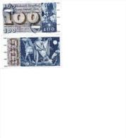Banconote Fuori Corso Suisse (Banknotes Switzerland), 100 Francs Type 1955-77 - Zwitserland