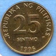 PHILIPPINES   25 SENTIMOS 1996 - Philippines