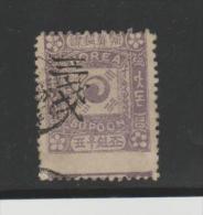 KoiMi.Nr. 31 I KOEREA - , Type II 3 Ch Auf 50 Poon  O - Corea (...-1945)