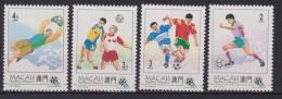 Macao Macau World Cup Football Championship USA MNH 4 VAL. - 1999-... Regione Amministrativa Speciale Della Cina