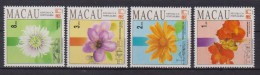 Macao Macau 1993 Flower Fiori Mnh Stamp - 1999-... Regione Amministrativa Speciale Della Cina