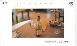 "Japan, 391-140 B, ""Mr. Holiday II"" (Restaurant Table), 2 Scans. - Japan"