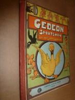 1929 GEDEON SPORTSMAN  Par Benjamin Rabier,  Imprimerie Crété à Corbeil,          Librairie Garnier Frères , Paris - Livres, BD, Revues
