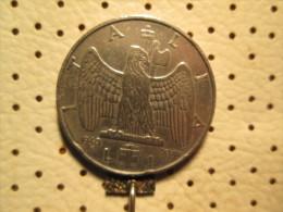 ITALY  1 Lira 1940   # 1 - 1861-1946 : Kingdom