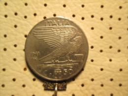 ITALY  50 Centesimi 1941      # 1 - 1861-1946 : Kingdom