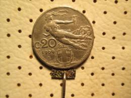 ITALY  20 Centesimi 1909      # 1 - 1861-1946 : Kingdom