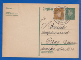 Deutschland; DR; 8 Pf. Ebert + Zusatz Mi.Nr. 410; 1931; Ganzsache Sonderstempel Kötzschenbroda Lößnitz - Germany