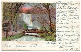 - WHERE THE FALLS OF MINNEHAHA FLASH AND GLEAM AMONG OAK TREES LAUGH AND - Scan Verso - - Minneapolis