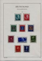 COLLECTION ALLEMAGNE 1949/1979 NEUVE** LUXE + 4500 � PAYS COMPLET SUR FEUILLES LEUCHTTURM